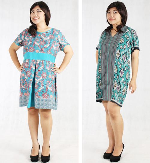 model baju batik santai untuk wanita