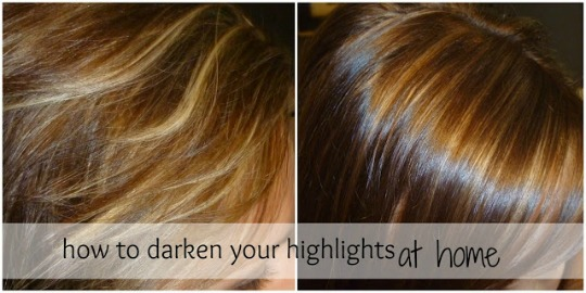 Beauty By Arielle How To Darken Your Highlights At Home