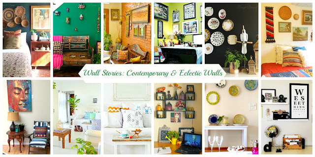Contemporary, Eclectic Wall Decor Ideas