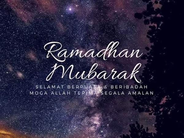 RAMADHAN AL-MUBARAK 1439H / 2018