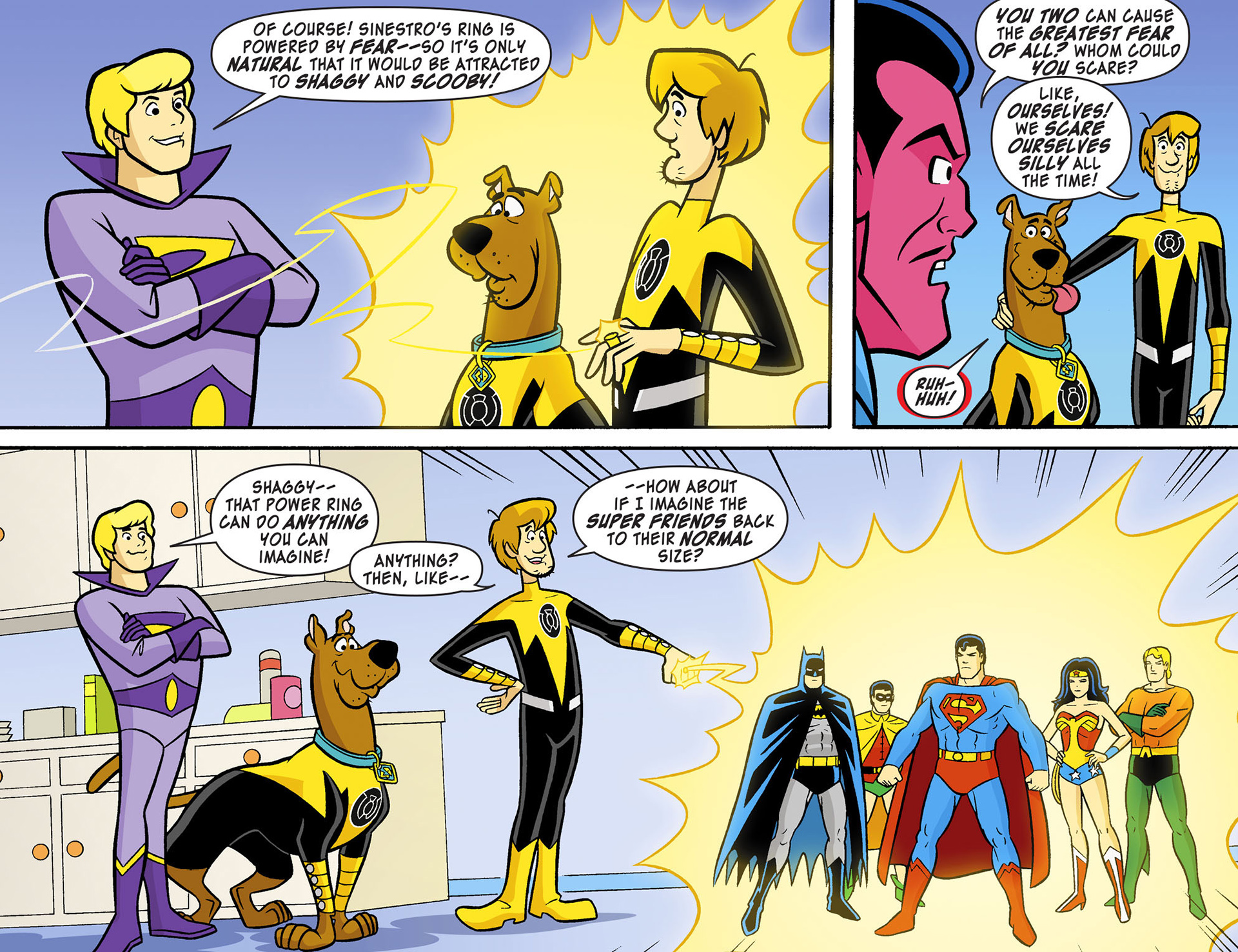 Read online Scooby-Doo! Team-Up comic -  Issue #12 - 18