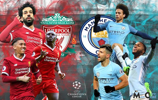 الأن إضافة قناة مفتوحة تنقل مباراة ليفربول ومانشستر سيتي مجاناً اليوم الثلاثاء 10-4-2018 في ربع نهائي دوري الأبطال حصري