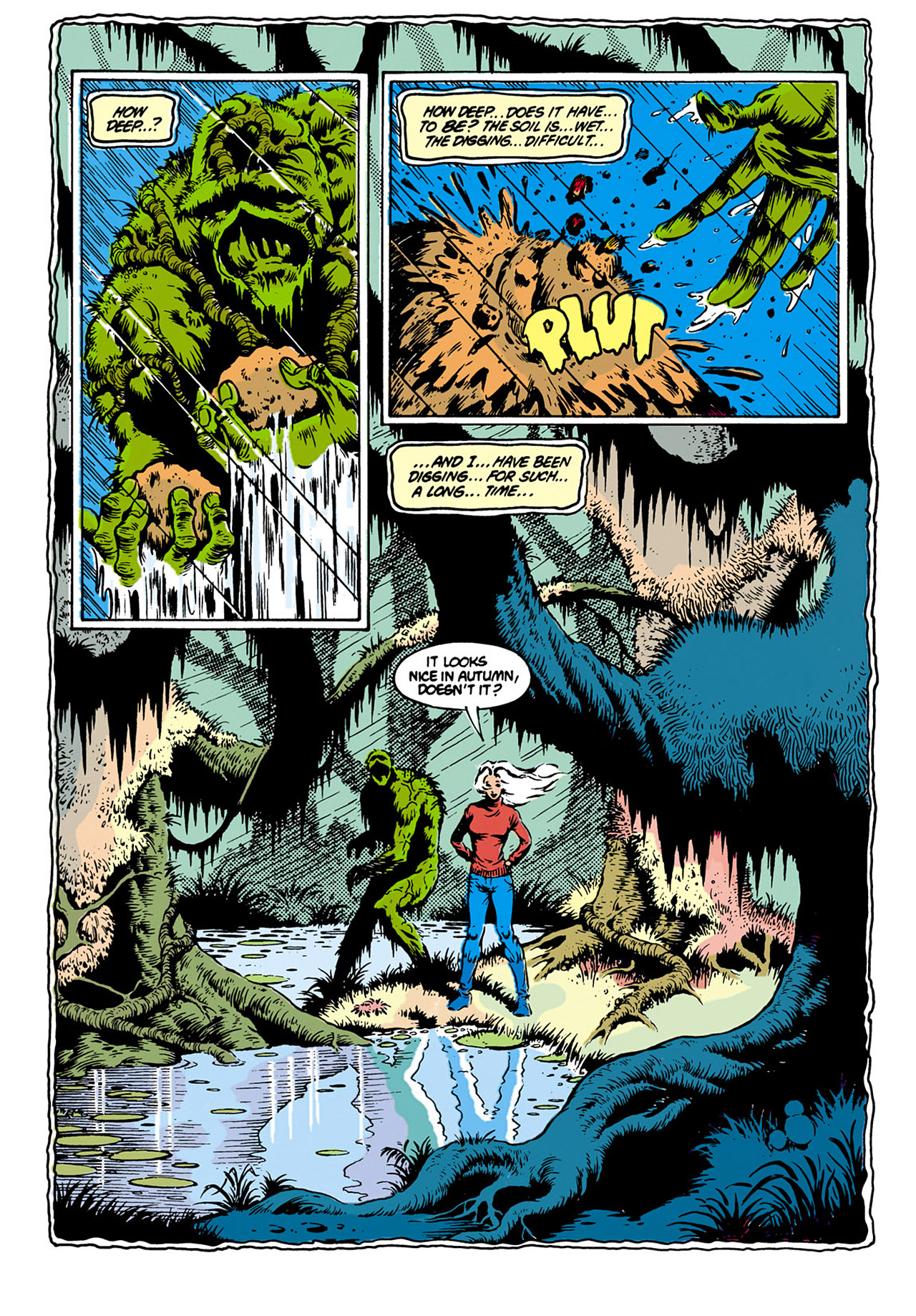 Swamp Thing (1982) Issue #28 #36 - English 3