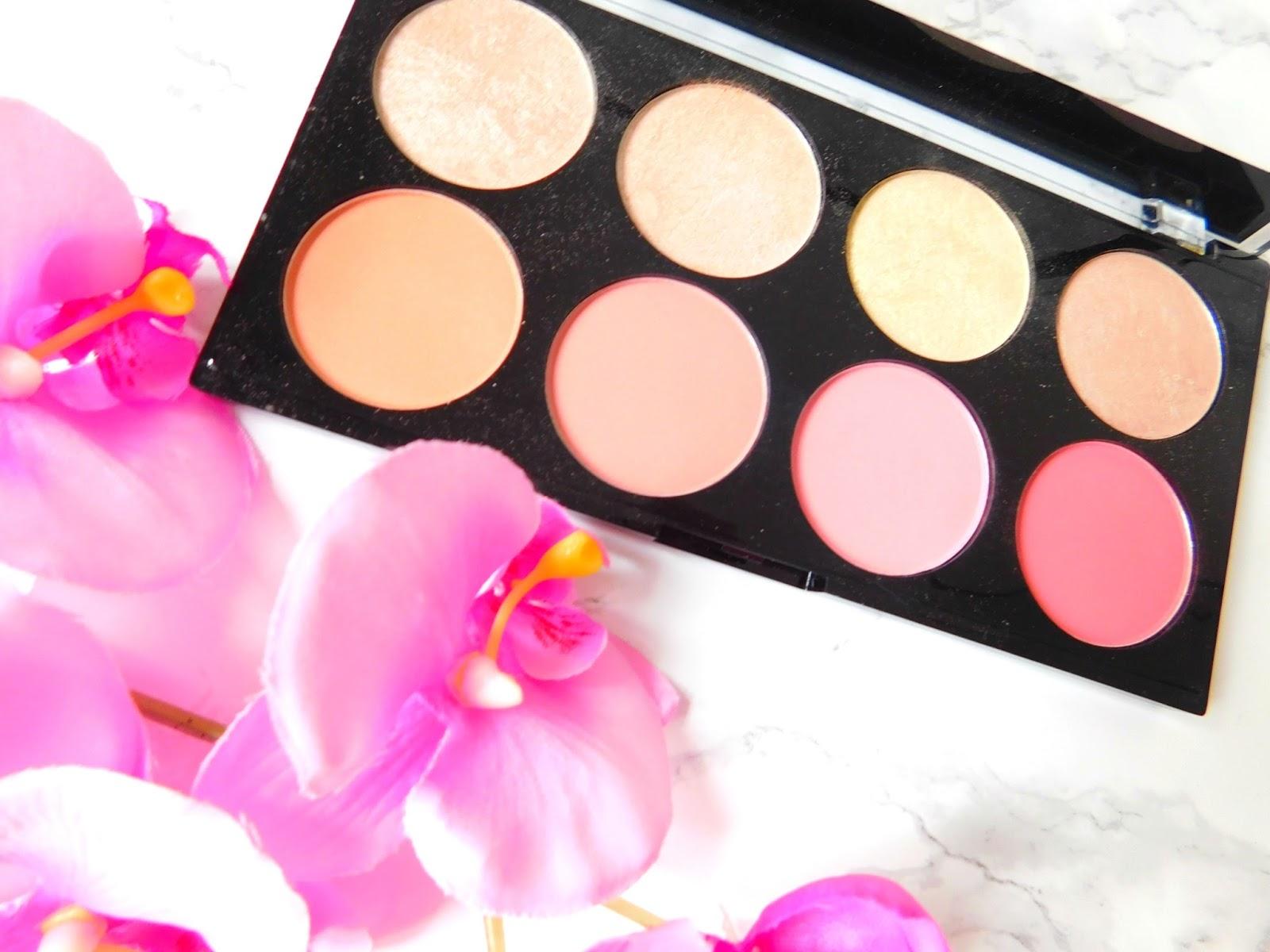 Makeup Revolution Blush Palette in Blush Goddess