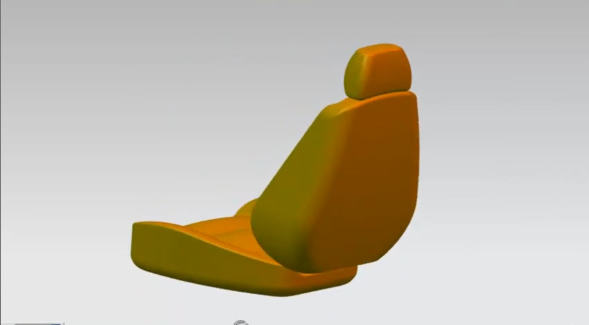 How To Drawing Car Seat 3d Model By Nx Drawing And Graphics