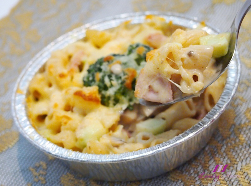 cheesy ham shrimp macaroni au gratin recipes