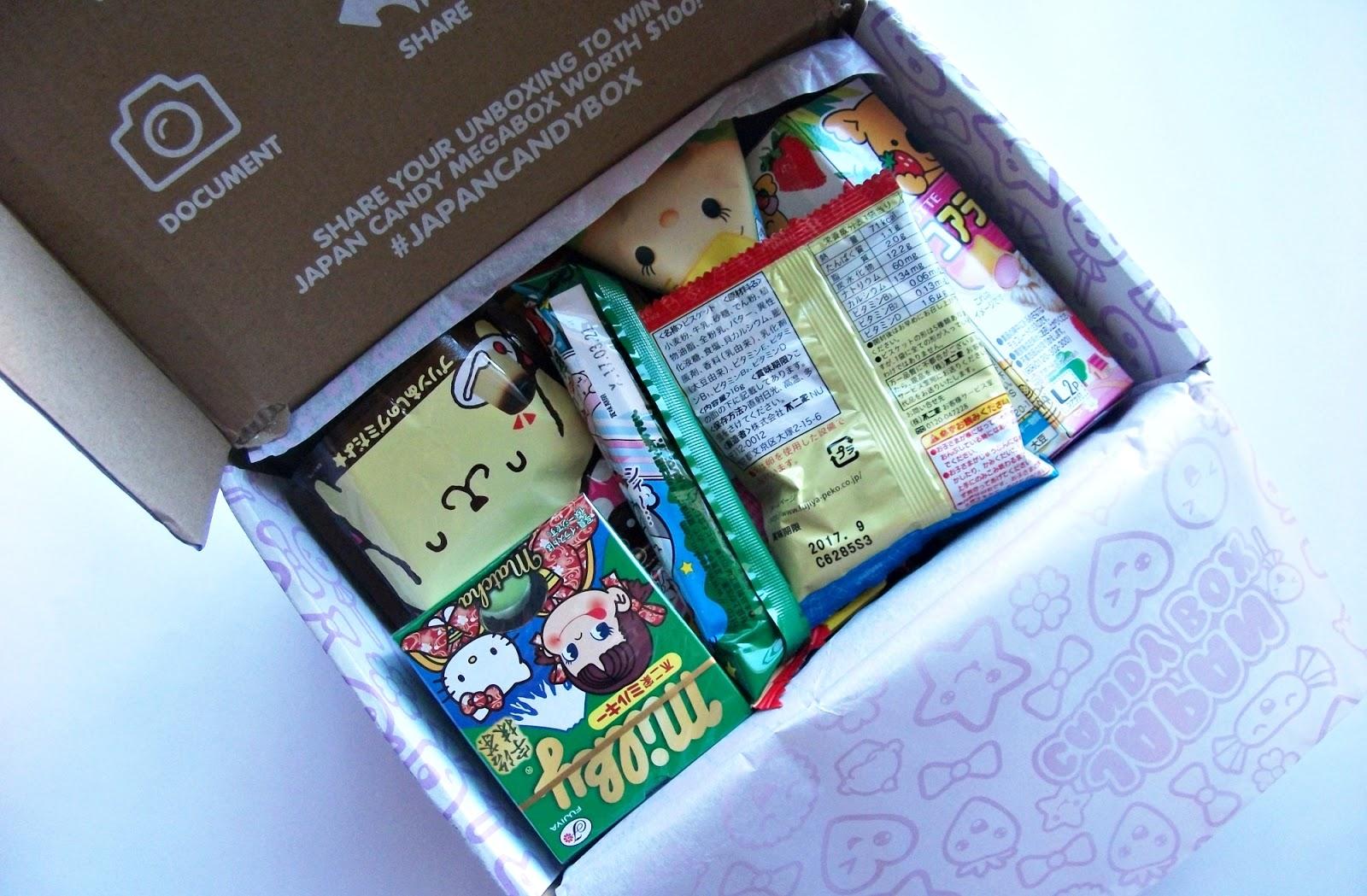 Japan Candy Box Novembro 2016
