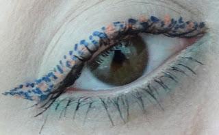 Leopar-Desenli-Eyeliner-ile-Göz-Makyajı