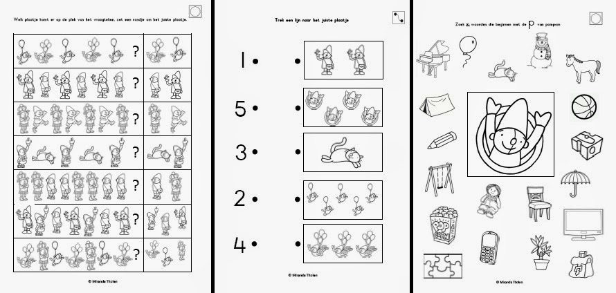 Kleurplaten Pompom Sinterklaas Miranda S Lesmaterialen Werkboekje Pompom Schatkist