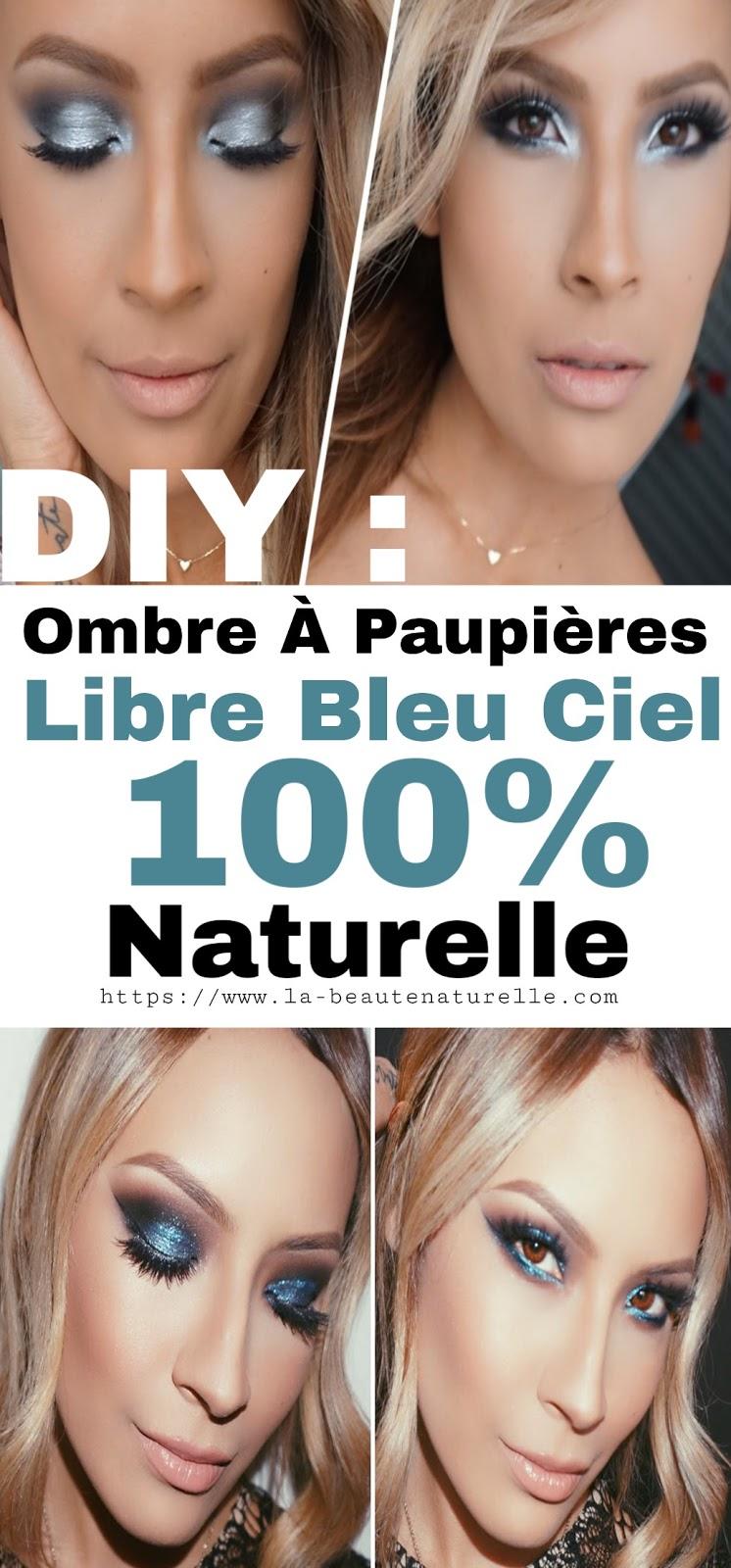 DIY : Ombre À Paupières Libre Bleu Ciel 100% Naturelle