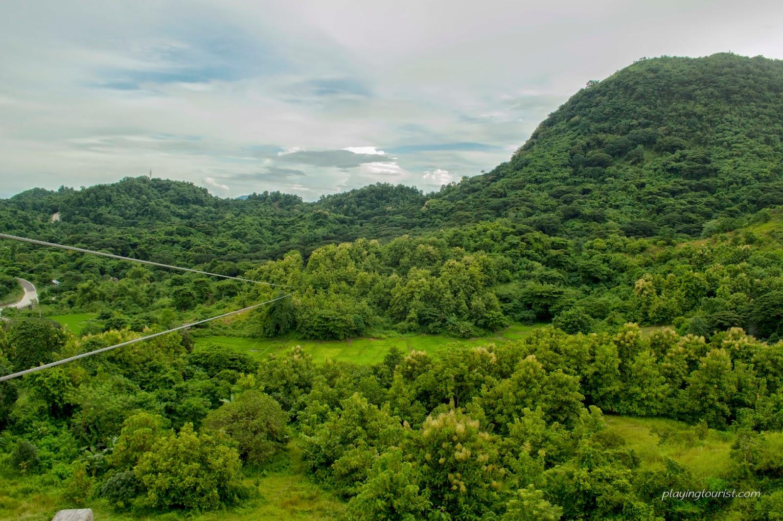 Mt. Balungao Zip Line