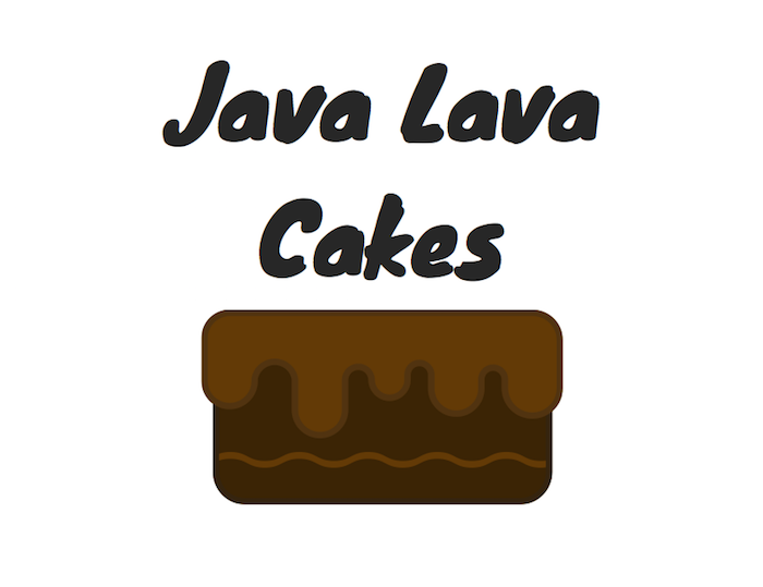 "Download the ""Java Lava Cakes"" Printable"