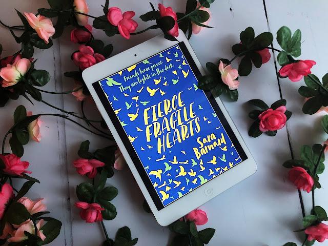 Fierce Fragile Hearts by Sara Barnard Review