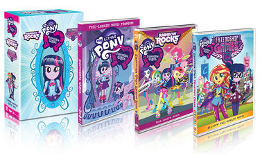 My Little Pony Equestria Girls DVD Box Set