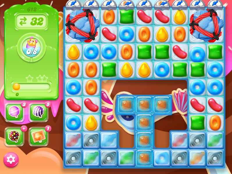 Candy Crush Jelly Saga level 612