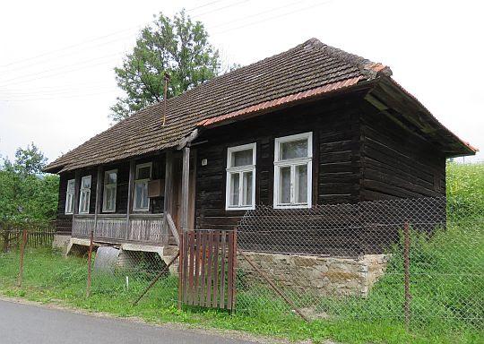 Stary dom w Cigelce.