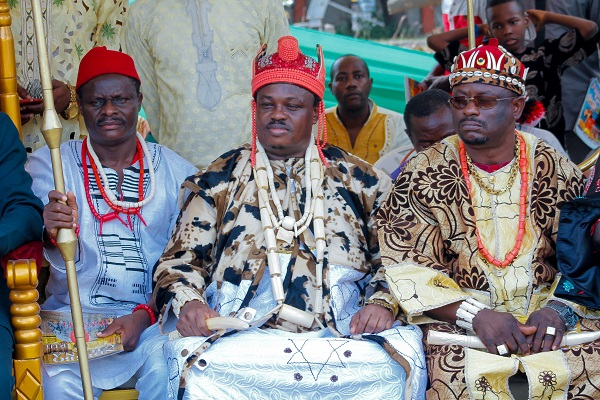 When Eze Ohazurume 1 led Igbos in Ghana to celebrate new yam festival