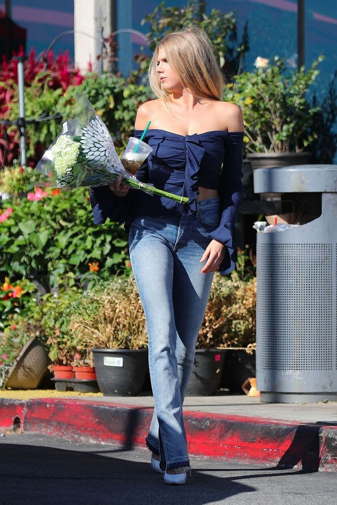 Charlotte McKinney Style Out Booty in Jeans in Los Angeles