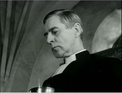 Gunnar Bjornstrand as The Pastor in The Winter Light, directed by Ingmar Bergman