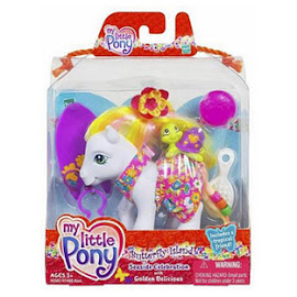 My Little Pony Golden Delicious Seaside Celebration G3 Pony