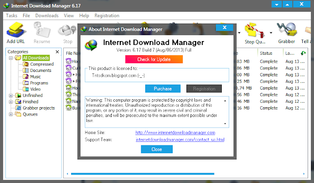 Free download idm 6. 17 patch crack serial number programadmin.