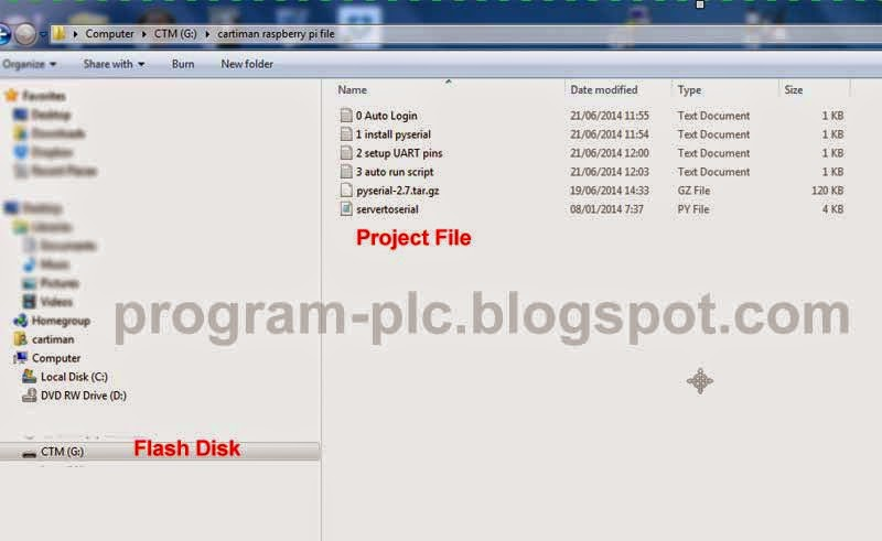 Download file and Save to Flash disk