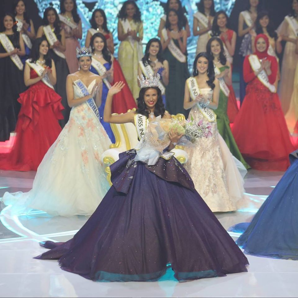 Dress up laundry kebon jeruk - Achintya Holte Nilsen Was Crowned Miss Indonesia 2017 In Mnc Studio Kebon Jeruk Jakarta On April 22nd She Was Crowned By Her Predecessor Miss Indonesia