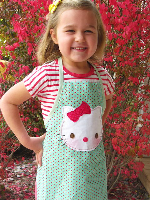 kids easy apron pattern