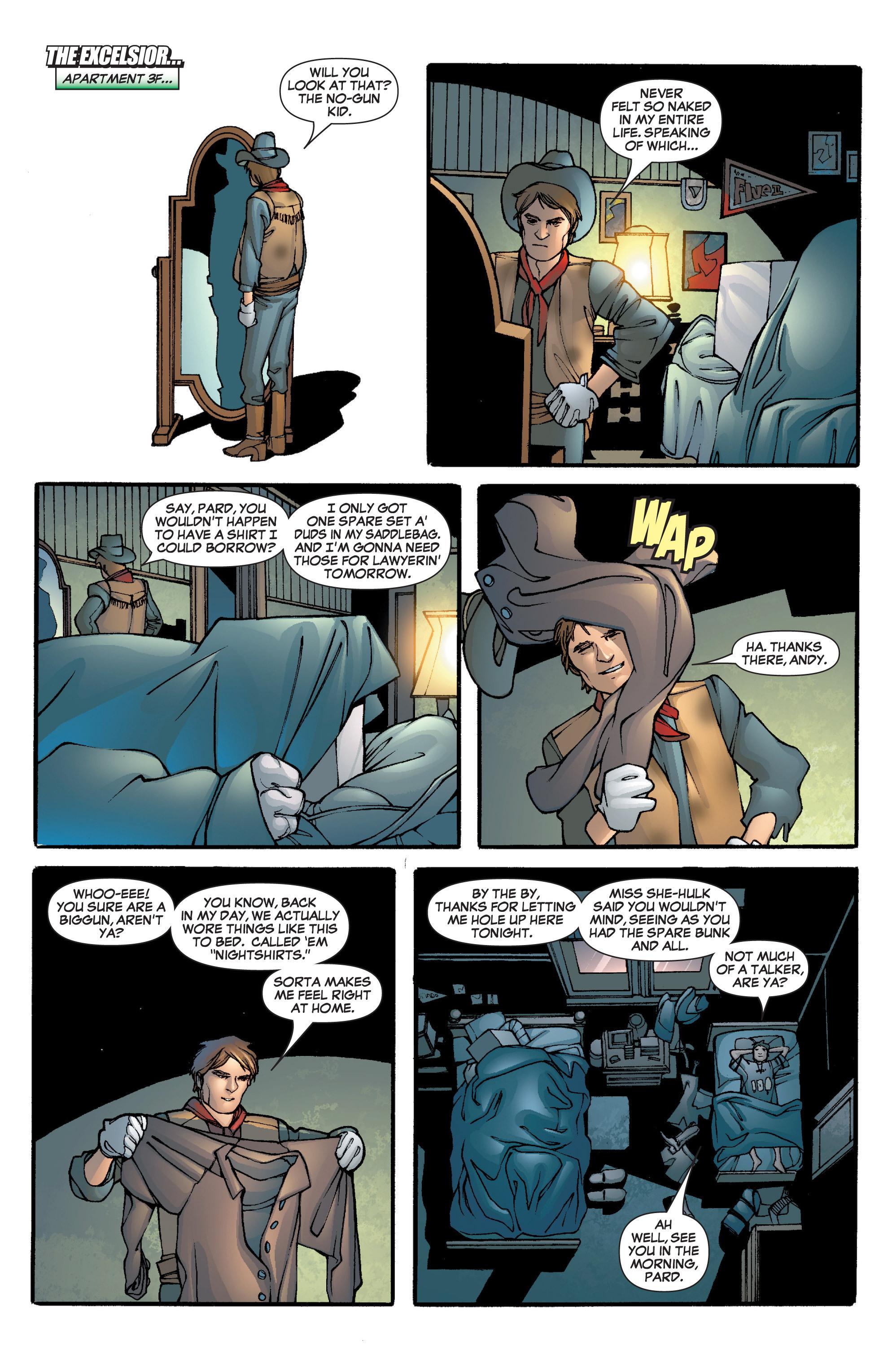 Read online She-Hulk (2005) comic -  Issue #5 - 13