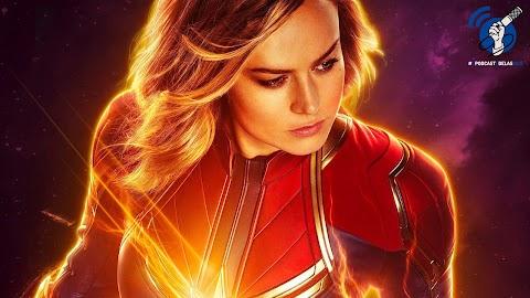 No Ar Com Elas 07 | Capitã Marvel  - #OPodcastÉdelas