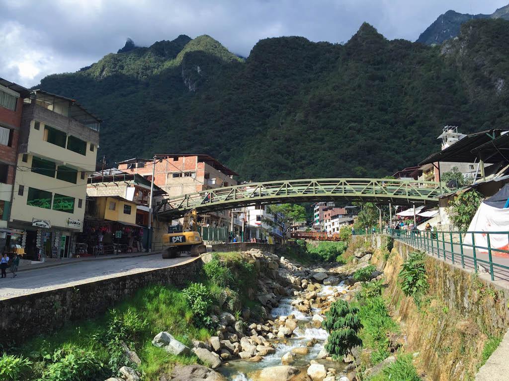 Aguas Calientes Town, Peru