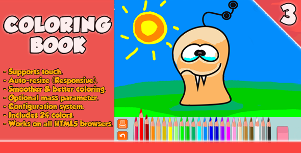 Coloring Book – HTML5 Game (CodeCanyon – 6163303)