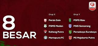Jadwal Babak 8 Besar Liga 2 Grup Y di Stadion GBLA & Si Jalak Harupat Bandung
