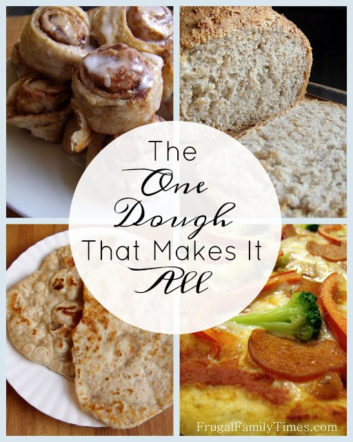 really useful dough to make lots of meals and desserts including pizza and naan