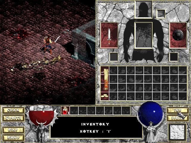 Diablo 1 Blizzard Captura de pantalla 9