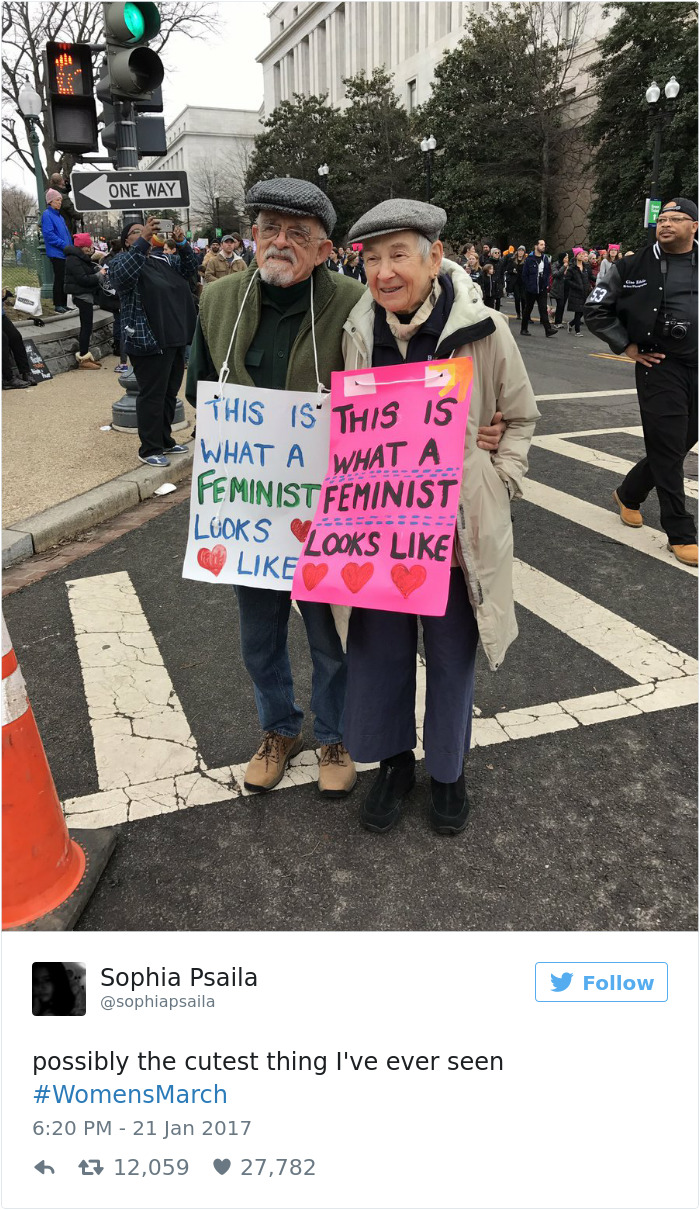 20 of the Most Powerful Protest Signs From Women's Marches Around the World