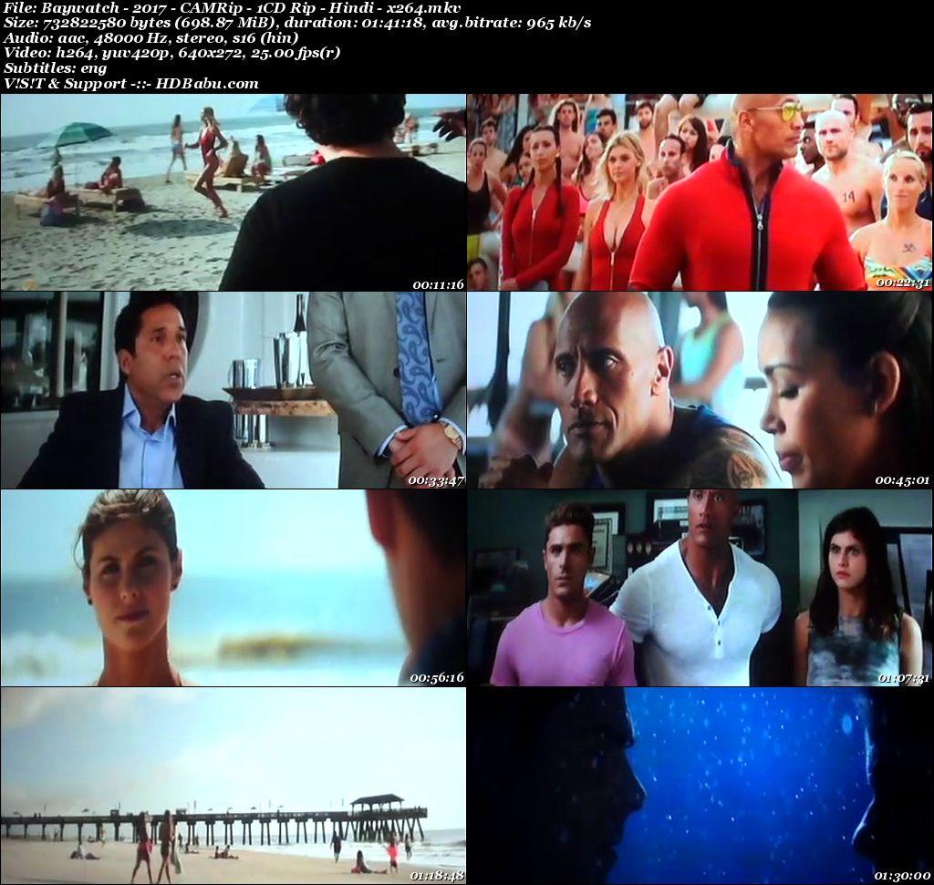 Baywatch Hindi Dual Audio Full Movie Download