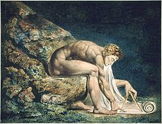 "Cuadro ""Newton"", de William Blake"