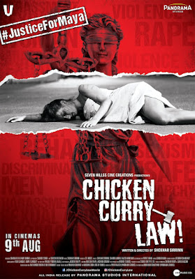 Chicken Curry Law 2019 Hindi Movie Pre-DVDRip 350Mb