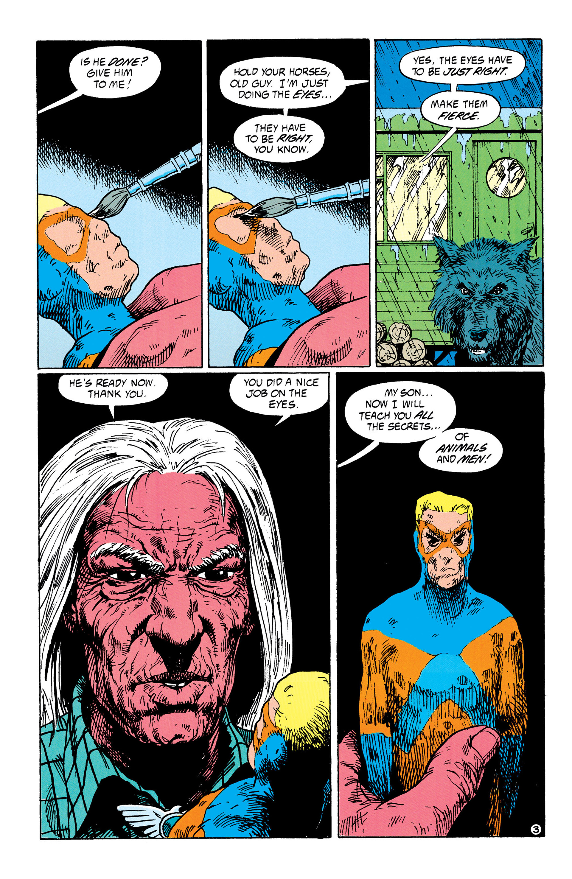Read online Animal Man (1988) comic -  Issue #33 - 4