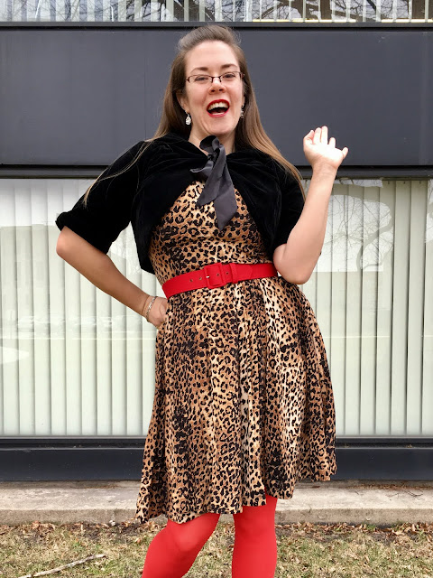 trashy diva leopard annette dress