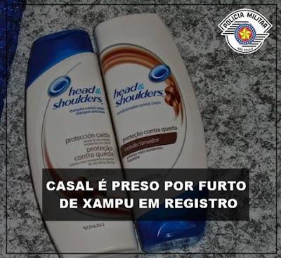 POLÍCIA MILITAR PRENDE CASAL EM REGISTRO-SP APÓS FURTAR EM FARMÁCIA
