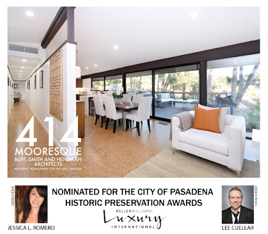 Romero, Cuellar and Buff Smith Hensman nominated for City of Pasadena Preservation award