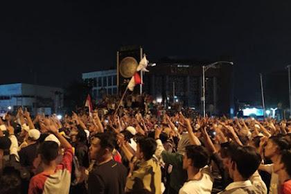 Bubar, Massa Aksi di Medan Janji Datang Lagi 25 Mei Bersama 50.000 Orang