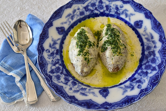 Kibbeh in Yogurt Sauce, Kibbeh bi Laban