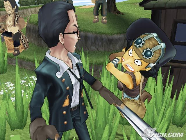 One Piece Grand Battle PS2 GAME ISO Screenshot 2