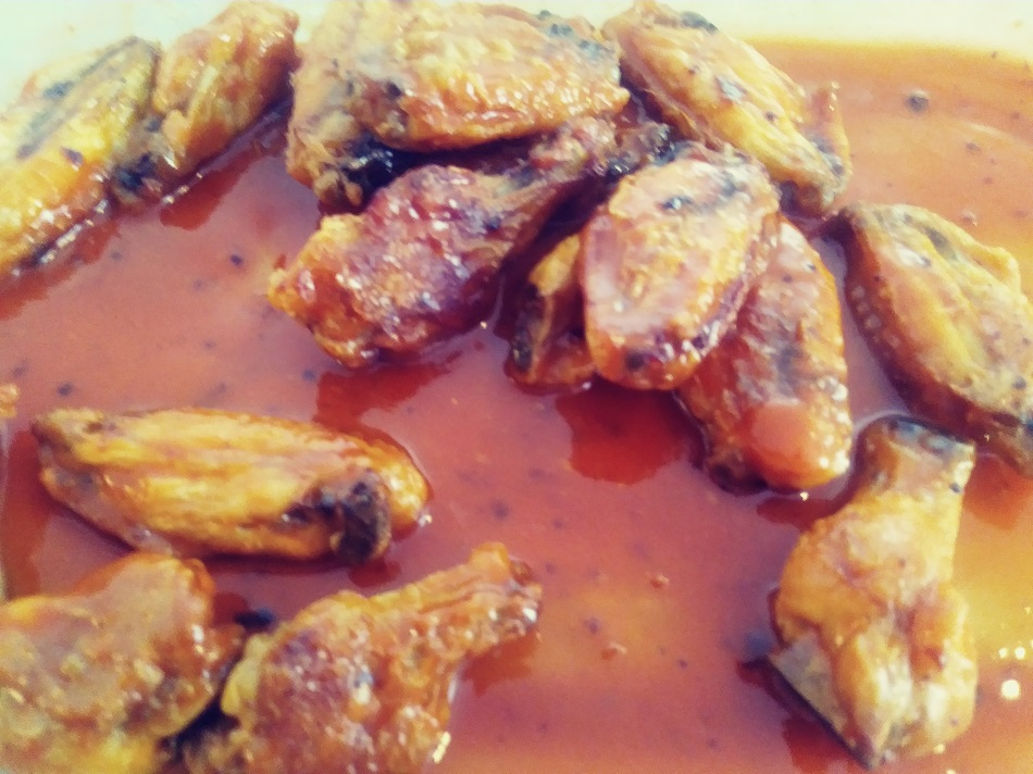 Sam S Place Baked Butter Garlic Chicken Wings