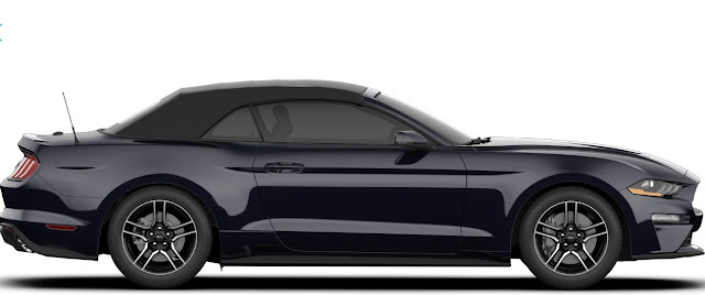 2019 Ford Mustang Ecoboost Convertible wheels