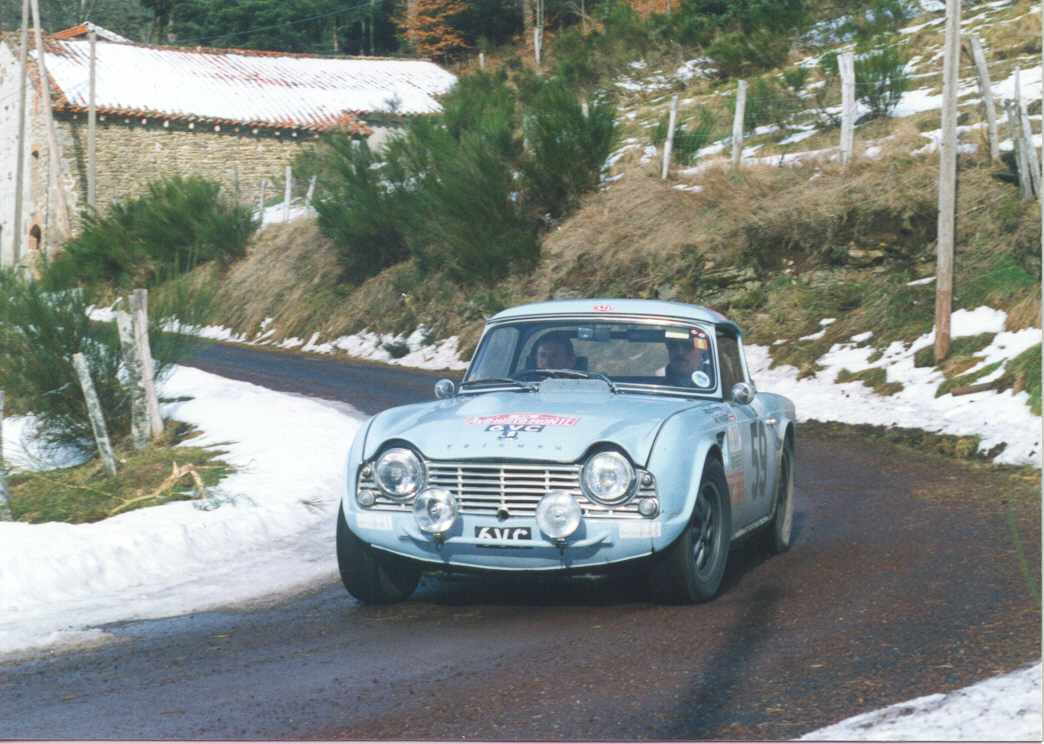 Revington Tr Triumph Tr Specialists Triumph Tr4 6vc Photos Of