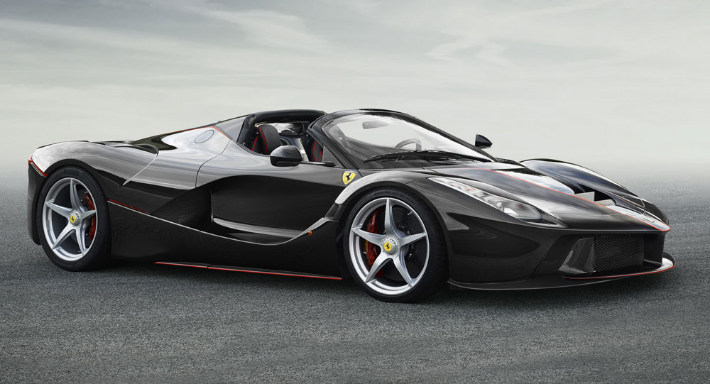 Drop-Top LaFerrari Set To Adopt 'Aperta' Name